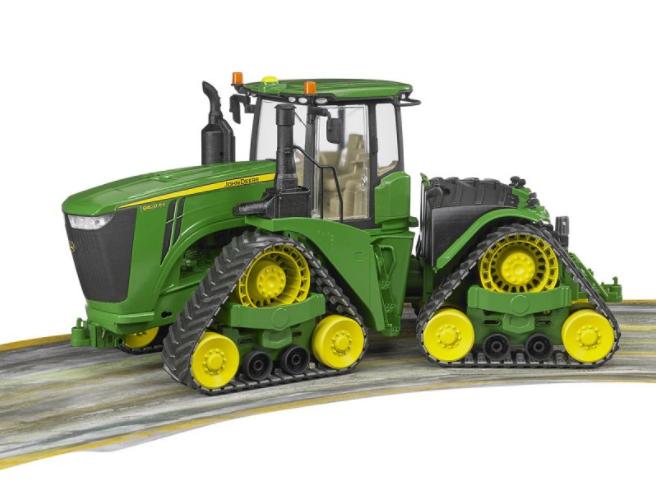 Игрушка Bruder John Deere 9620RX трактор гусеничный 04-055 - фото 3