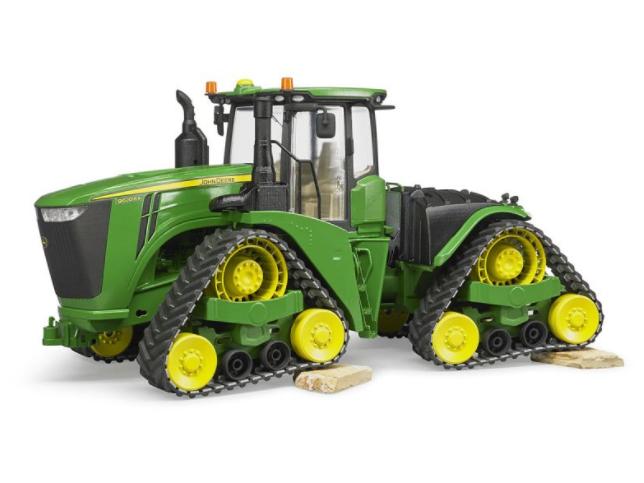 Игрушка Bruder John Deere 9620RX трактор гусеничный 04-055 - фото 1