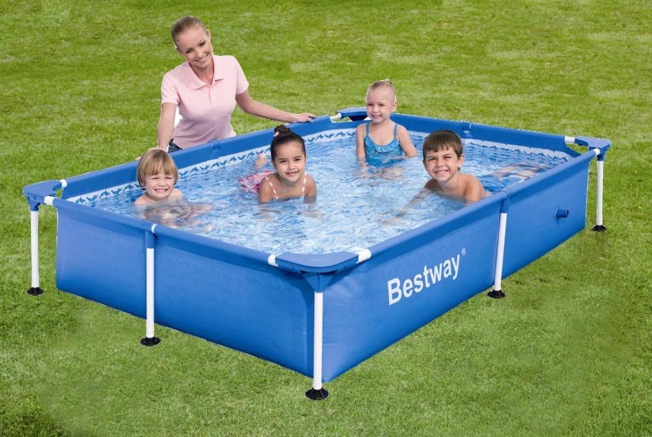 Бассейн BestWay 221x150x43cm 56401 - фото 1