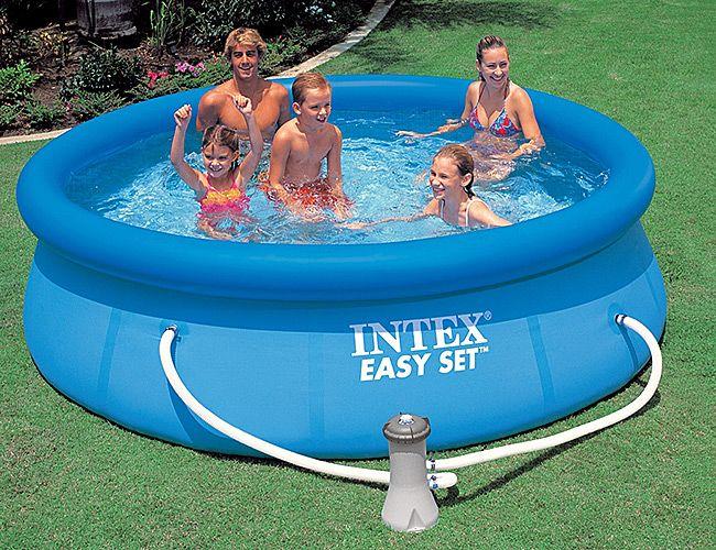 Детский бассейн Intex Easy Set 244x76cm 28112 - фото 1