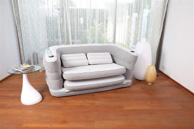 Надувной матрас BestWay Multi Max II Air Couch 200x160x64 75063 - фото 1