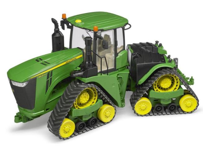 Игрушка Bruder John Deere 9620RX трактор гусеничный 04-055 - фото 5