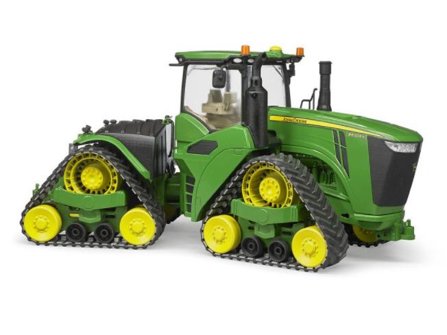 Игрушка Bruder John Deere 9620RX трактор гусеничный 04-055 - фото 2