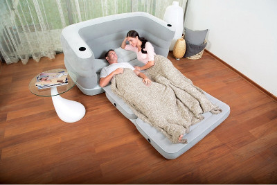 Надувной матрас BestWay Multi Max II Air Couch 200x160x64 75063 - фото 3