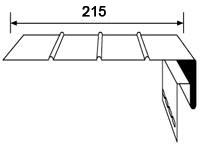 Соффит перфорированный Docke Т4, размер 3,05 м цвет Гранат - фото J_faska_1.jpg