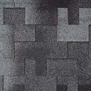 Tegola (Тегола) Альпин цвет: Черный с отливом