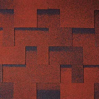 Tegola (Тегола) Альпин цвет: Красный с отливом